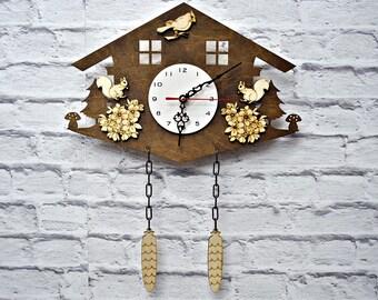 Cuckoo Clock Etsy