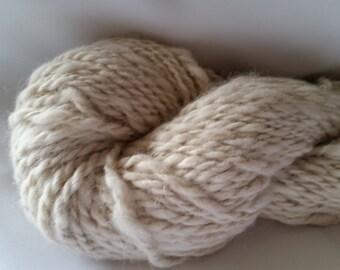 Alpaca Handspun Huacaya Yarn - Hope