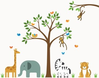 Wall Decal Tree, Wall Decal, Wall Sticker Tree - X-Large