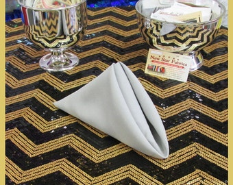 """100 pcs 18""""X18"""" Polyester Napkins Wedding Party Table Decorations Supply Gray 410"""