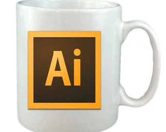 Adobe illustrator  Mug