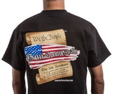 Constitution Front & Back Mens T Shirt