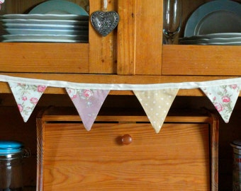 Bunting - yellow & pink bunting