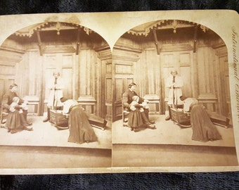 Stereo Card Centennial Photographic Co, International Exhibitions 1876 Philadelphia
