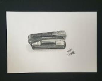 Drawing - Stapler