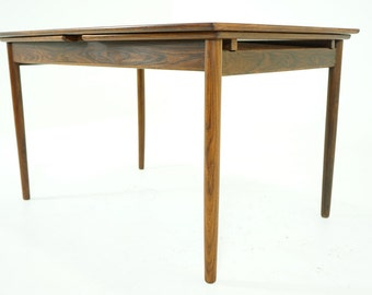 D146 SALE!  Danish Mid Century Modern Rosewood Dining Table