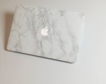 Marble MacBook Skin / Sticker for MacBook Air, MacBook Pro, MacBook Pro Retina. Made in the USA. FREE U.S. Shipping!
