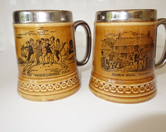 Two Lord Nelson Pottery mugs