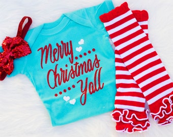 Baby Christmas Outfits for Girls Baby Girl Christmas Outfits
