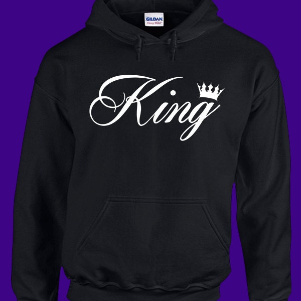king hoodie king and queen shirts king and queen sweaters. Black Bedroom Furniture Sets. Home Design Ideas