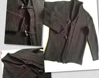 Mens shawl collar cardigan