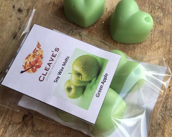 Green Apple Scented Soy Wax Melts