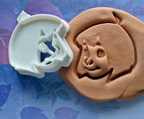 Jungle Book Mowgli Cookie Cutter Made From Biodegradable Material