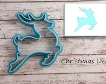 Deer cookie cutter / Reindeer cookie cutter / Cookie cutter Christmas / Cookie cutter / Cookie cutter holiday / fondant cutter