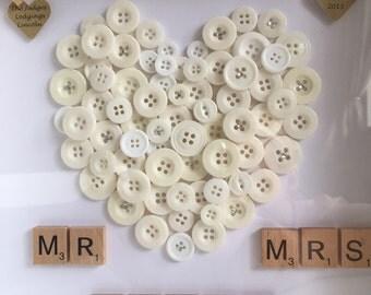 Wedding Button Art