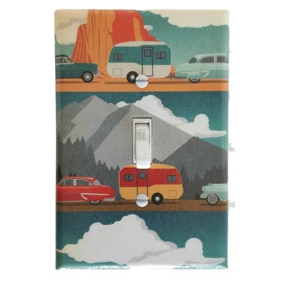 Travel Trailer Camper Vintage Trailer Wall Decor Light