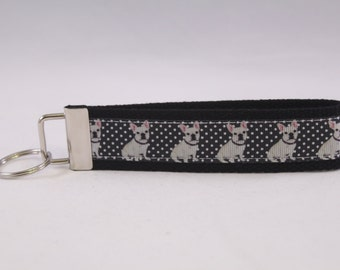French Bulldog Key Fob