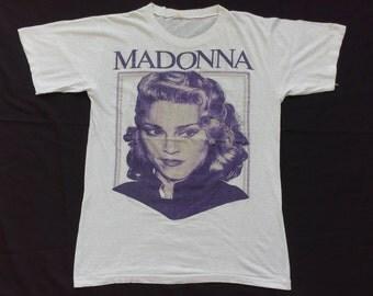 vintage madonna 80's t-shirt