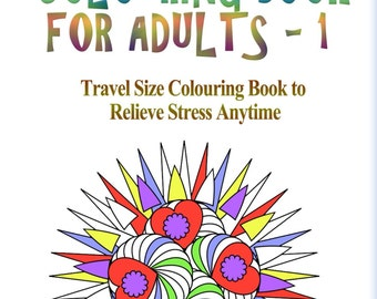 Handy Little Colouring Book for Adults - 1