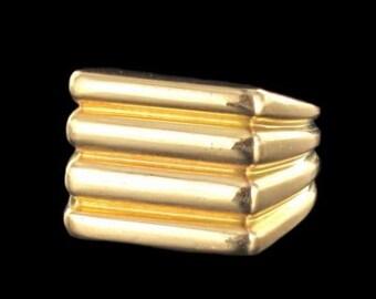 Old ring in 18 k vintage ring gold old gold