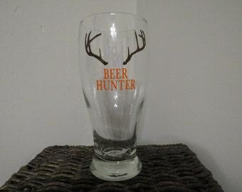 Beer Hunter pilsner glass