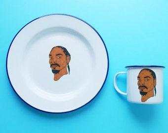 Snoop Dogg Mug and Plate Set
