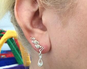 Handmade Ear Climbers