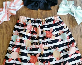 Celebration elastic skirt