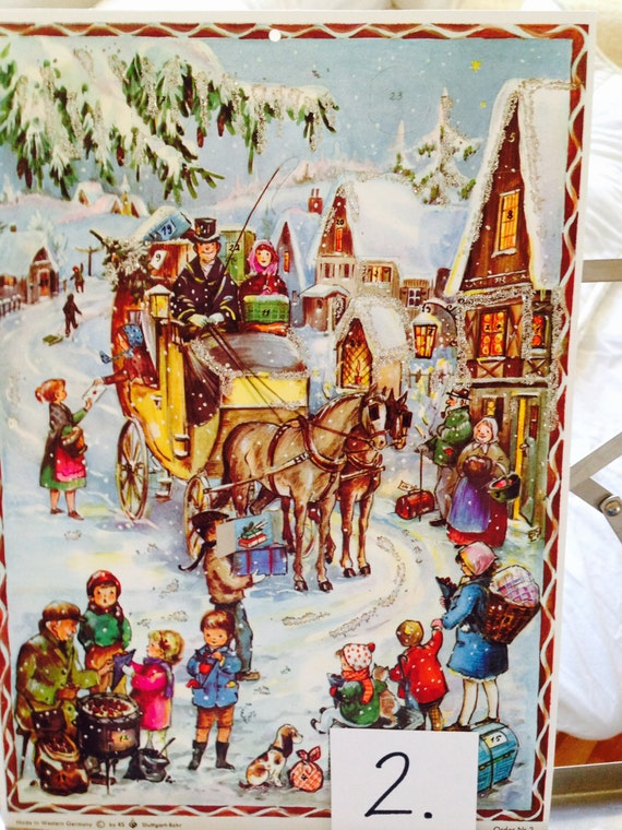Picture Advent Calendar / German Advent
