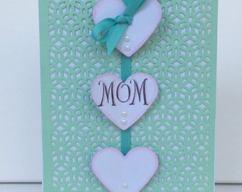 Green Mother's Day Card