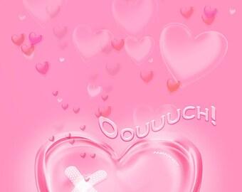 Valentine's broken heart