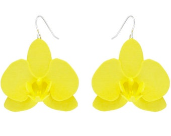 Orchid Flower (S) - Yellow