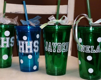Personalized Tumblers! Any design and a name!
