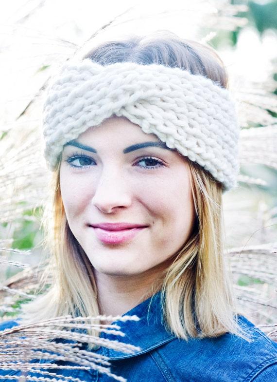 Turban Headband Knitting Pattern : Knitting Pattern Turban-Style Headband // by cabinandcoveknits