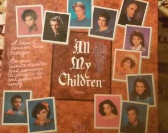 All My Children Board Game Soap Opera ABC TV 1985