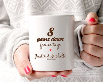 Wedding Gifts For 8th Anniversary : 8th anniversary gift 8th wedding anniversary 8th anniversary 8 years ...