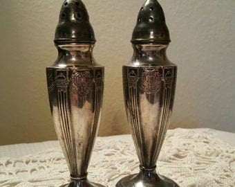 Vintage Astor Shakers Set By Poole