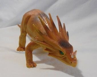 Dinosaur Toy - Styracosaurus - Children's Toy - Vintage Toy - Imperial Toy - 1985 Dinosaur - Boy Gift - Girl Gift - Nursery Room Decor