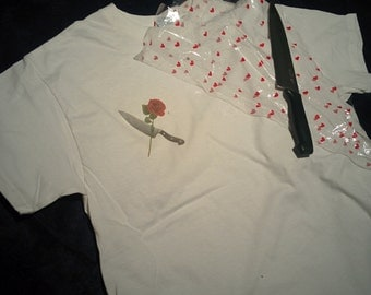Knife and Rose t-shirt