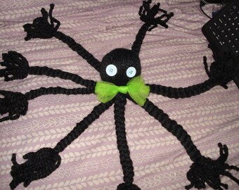 Octopus yarn doll