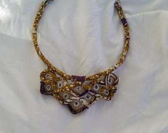 Handmade African inspired necklace