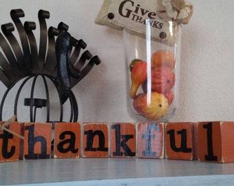 """Fall """"thankful"""" blocks"""