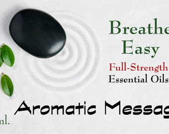 Breathe Easy – 5 ml. : Custom Essential Oil Blend