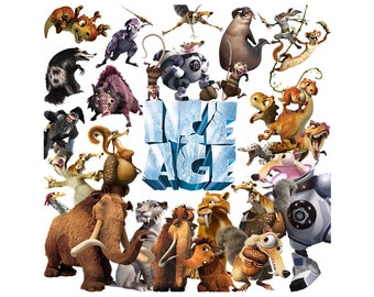 Ice Age 50 images movie clipart