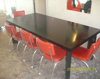 Solid Slab Dining Table