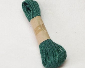 30ft. Package of 1.5mm Jute Twine in Emerald Green