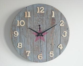 Wall clock handmade Ref: 016