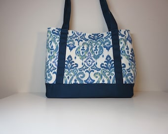 Tudor Tote Bag, Shoulder Bag, Market Bag, Tote Bag