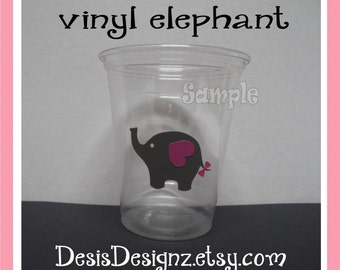 Elephant Car Decal Etsy