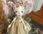 "Dear Little Deer Doll ""Pinky"""